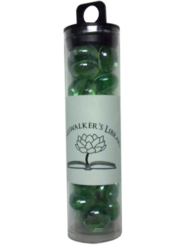 Tube of Glass Counters (Light Green) | Magic: The Gathering | Counters