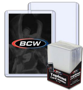 BCW Standard Toploader (x25) | Magic: The Gathering | Card Protectors