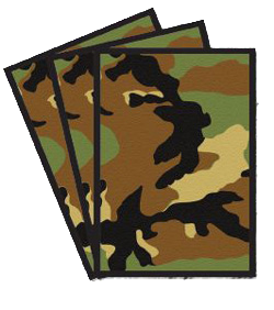 Legion Card Sleeve (Camo) (x50) | Magic: The Gathering | Card Sleeves