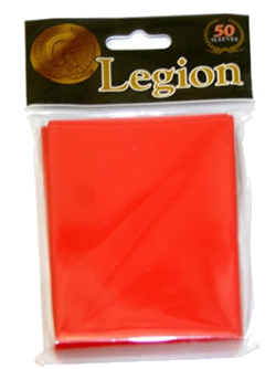 Legion Card Sleeve (Red) (x50) | Magic: The Gathering | Card Sleeves