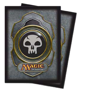 Ultra-Pro Mana Sleeves III (Black) | Magic: The Gathering | Card Sleeves