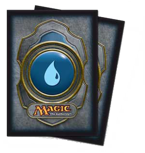 Ultra-Pro Mana Sleeves III (Blue) | Magic: The Gathering | Card Sleeves