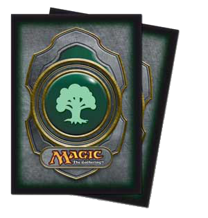 Ultra-Pro Mana Sleeves III (Green) | Magic: The Gathering | Card Sleeves
