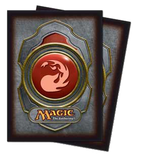 Ultra-Pro Mana Sleeves III (Red) | Magic: The Gathering | Card Sleeves