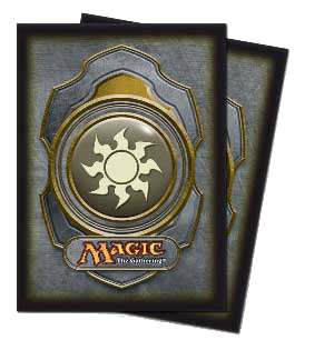 Ultra-Pro Mana Sleeves III (White) | Magic: The Gathering | Card Sleeves
