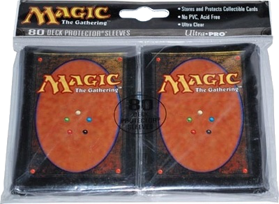 Ultra-Pro Magic Back Card Sleeve (x80) | Magic: The Gathering | Card Sleeves