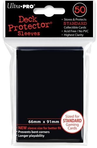 Ultra-Pro Black Sleeves (x50) | Magic: The Gathering | Card Sleeves