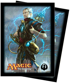 Ultra-Pro Dragon's Maze Izzet (Ral Zarek) Card Sleeves (x80) | Magic: The Gathering | Card Sleeves