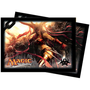Ultra-Pro Dragon's Maze Rakdos (Exava) Card Sleeves (x80) | Magic: The Gathering | Card Sleeves