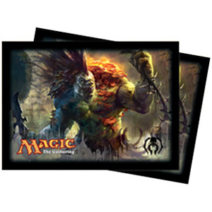 Ultra-Pro Dragon's Maze Golgari (Varolz) Card Sleeves (x80) | Magic: The Gathering | Card Sleeves