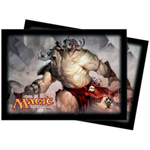 Ultra-Pro Dragon's Maze Gruul (Ruric Thar) Card Sleeves (x80) | Magic: The Gathering | Card Sleeves