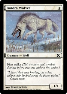 Tundra Wolves | Magic: The Gathering Card