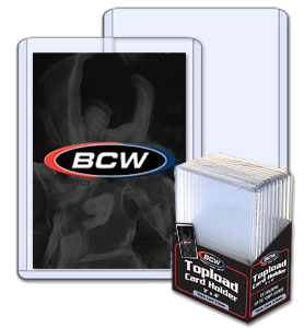 BCW Thick Card Toploader (x10) | Magic: The Gathering | Card Protectors