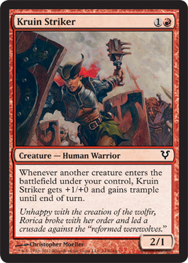 Kruin Striker | Magic: The Gathering Card
