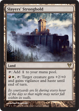 Slayers' Stronghold | Magic: The Gathering Card