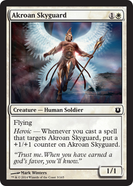 Akroan Skyguard | Magic: The Gathering Card