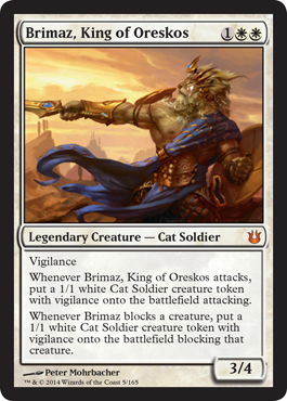 Brimaz, King of Oreskos | Magic: The Gathering Card