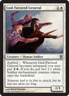 God-Favored General | Magic: The Gathering Card