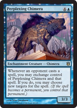 Perplexing Chimera | Magic: The Gathering Card