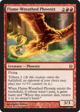 Flame-Wreathed Phoenix | Magic: The Gathering Card