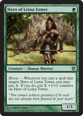 Hero of Leina Tower | Magic: The Gathering Card