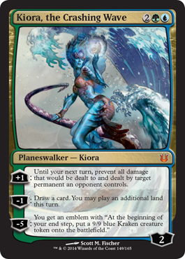 Kiora, the Crashing Wave | Magic: The Gathering Card