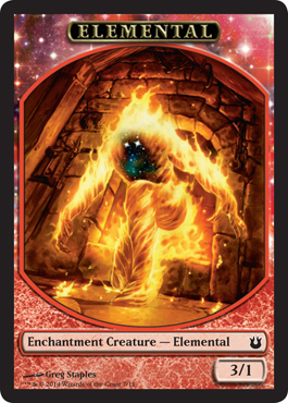 Elemental Token | Magic: The Gathering Card