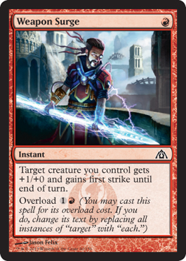 Weapon Surge | Magic: The Gathering Card