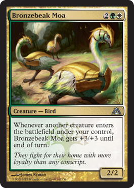 Bronzebeak Moa | Magic: The Gathering Card