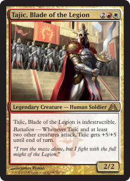 Tajic, Blade of the Legion | Magic: The Gathering Card