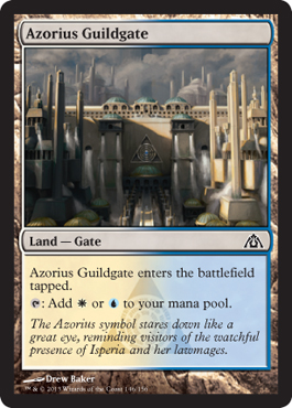 Azorius Guildgate | Magic: The Gathering Card