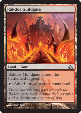 Rakdos Guildgate | Magic: The Gathering Card