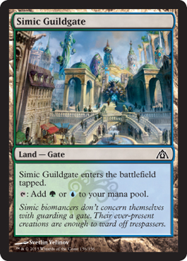 Simic Guildgate | Magic: The Gathering Card