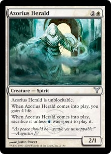 Azorius Herald | Magic: The Gathering Card
