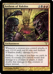 Anthem of Rakdos | Magic: The Gathering Card