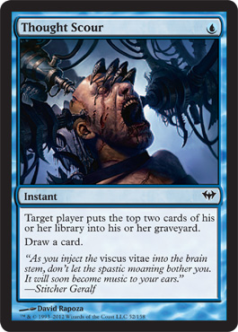 Thought Scour | Magic: The Gathering Card