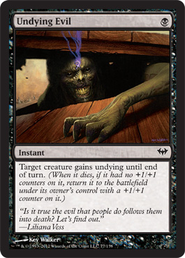 Undying Evil | Magic: The Gathering Card