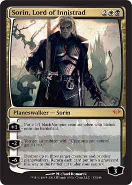 Sorin, Lord of Innistrad | Magic: The Gathering Card