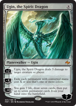 Ugin, the Spirit Dragon in Fate Reforged