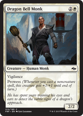 Dragon Bell Monk | Magic: The Gathering Card