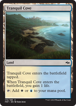 Tranquil Cove | Magic: The Gathering Card
