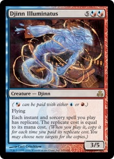 Djinn Illuminatus | Magic: The Gathering Card