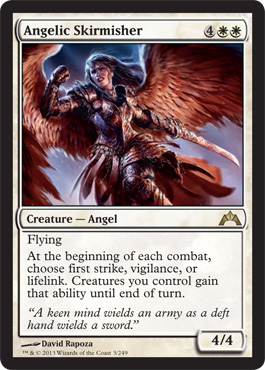Angelic Skirmisher | Magic: The Gathering Card