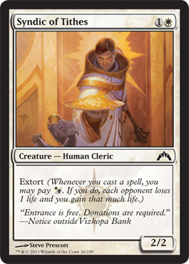 Syndic of Tithes | Magic: The Gathering Card