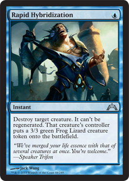 Rapid Hybridization | Magic: The Gathering Card