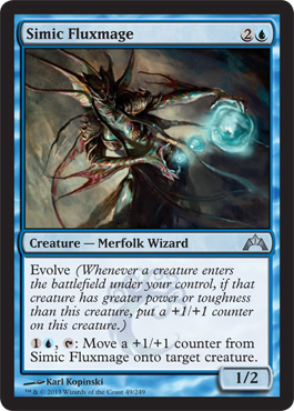 Simic Fluxmage | Magic: The Gathering Card