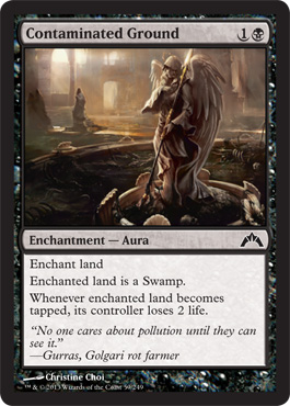 Contaminated Ground | Magic: The Gathering Card