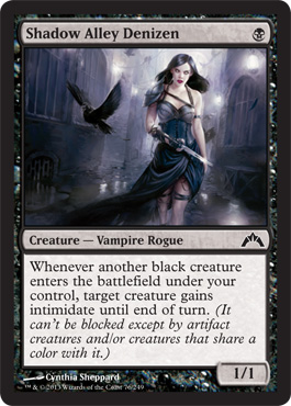 Shadow Alley Denizen | Magic: The Gathering Card