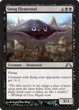 Smog Elemental | Magic: The Gathering Card