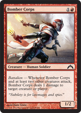 Bomber Corps | Magic: The Gathering Card